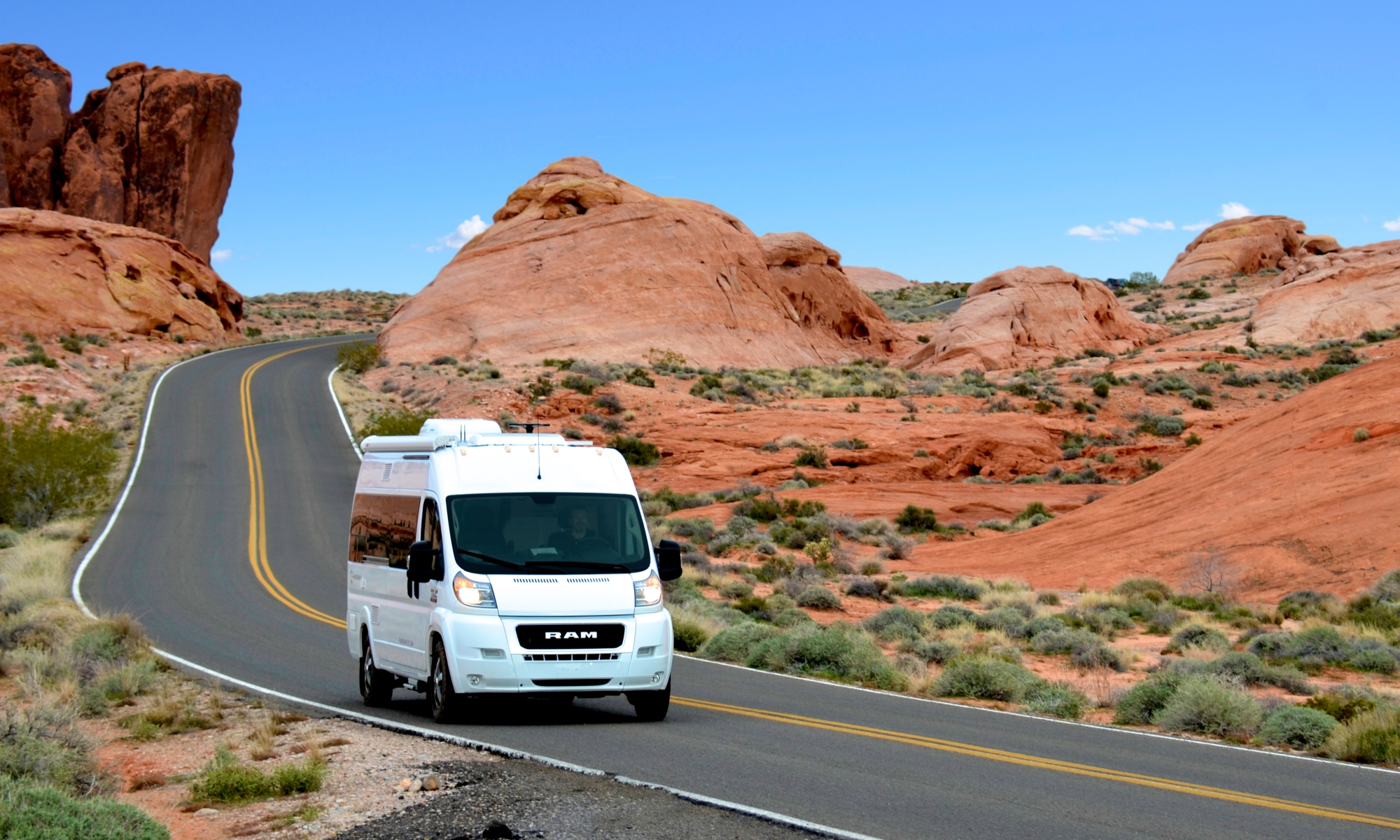 Panoramic RV - Valley of Fire
