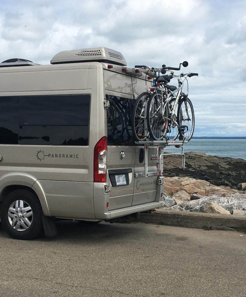 Panoramic RV - Bike rack 1