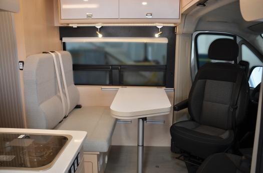 Panoramic RV - Gray bench - 1