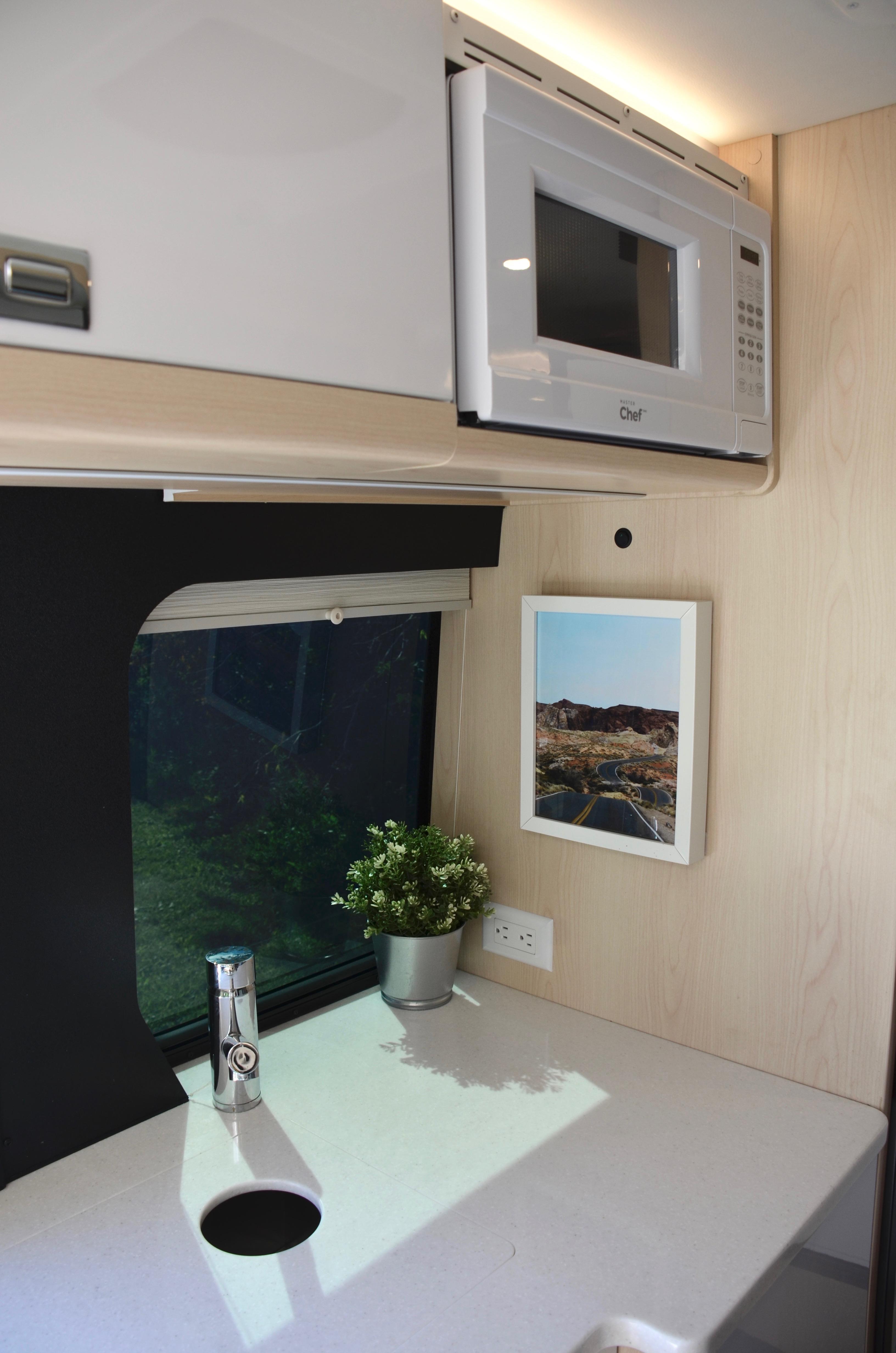 Panoramic RV - Microwave - 1